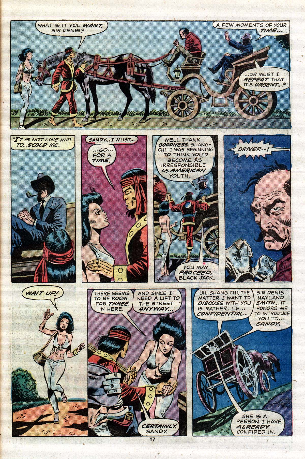 Read online Giant-Size Master of Kung Fu comic -  Issue #2 - 15