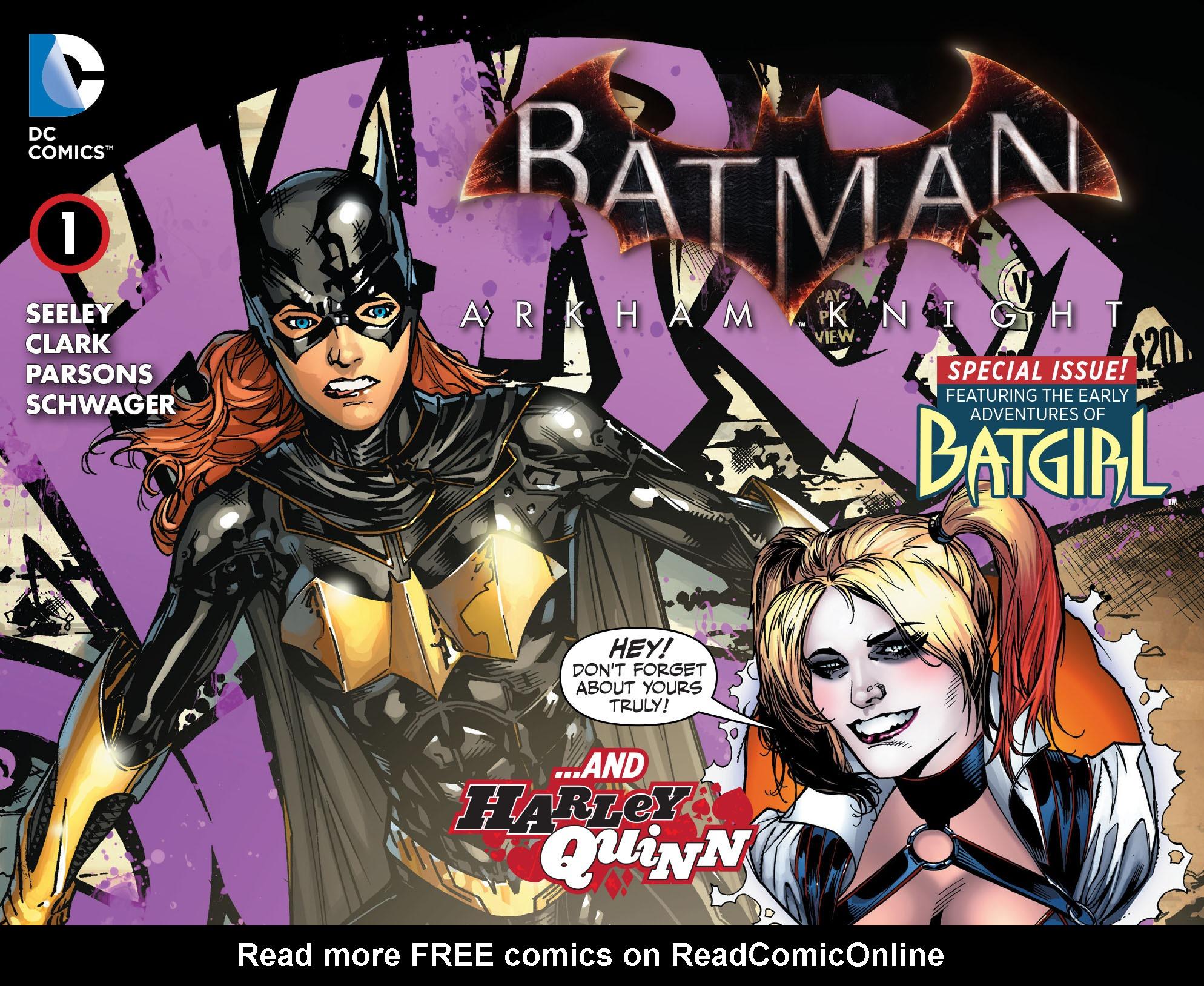 Batman: Arkham Knight: Batgirl & Harley Quinn 1 Page 1
