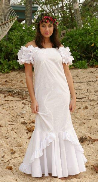 Hawaiian Wedding Dress | Wedding dresses, simple wedding ...