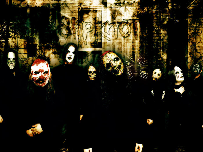 Rock Band Wallpapers: Slipknot Wallpaper