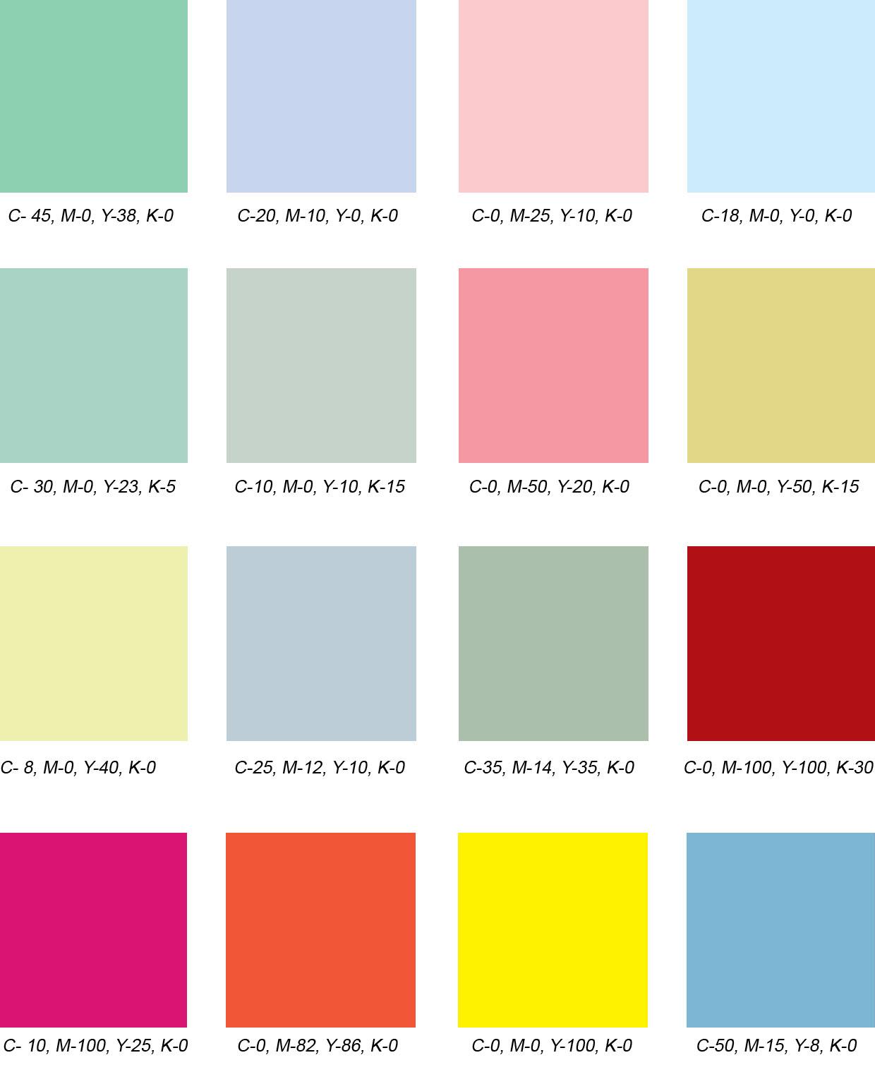 Kitchen Design Color Schemes 50s Color Palette 28 Images Pantone Turns 50 Celebrate