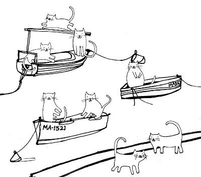 Cat Boat Diagram