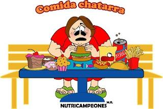 COMIDA CHATARRA