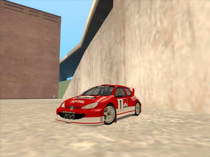 Hashrul Blogspot: 2003 Peugeot 206 Paintjob