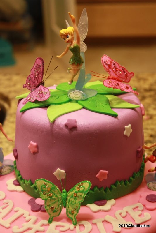 Baking And Caking For Beginners Disney Fairies Cake