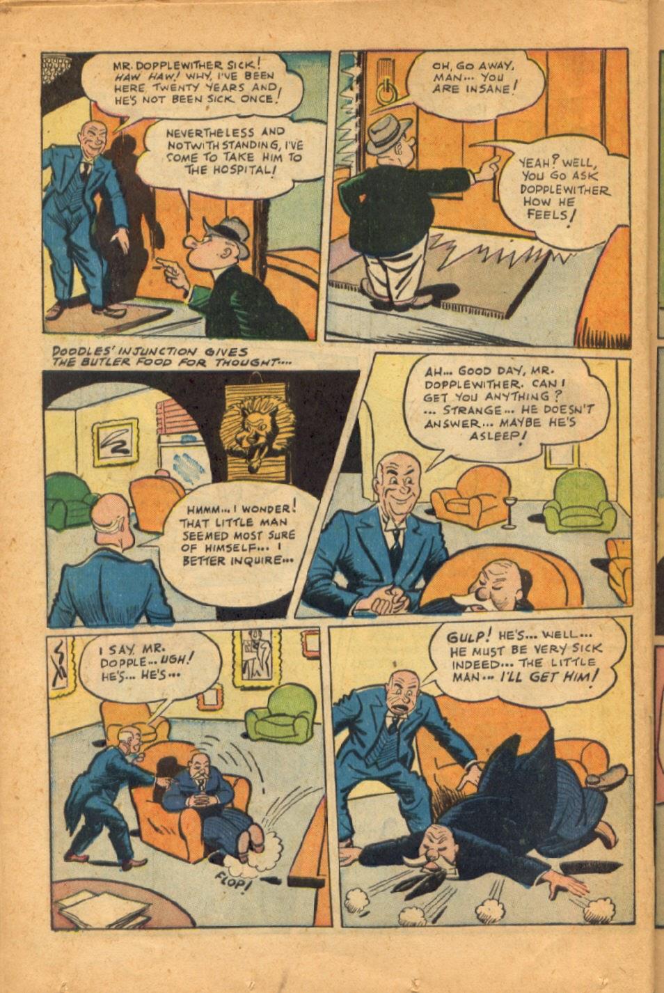 Read online Super-Magician Comics comic -  Issue #52 - 35