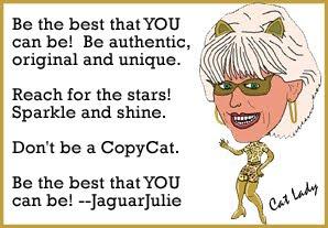 the cat attitude of jaguar julie