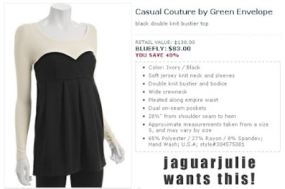 casual couture by green envelope bustier