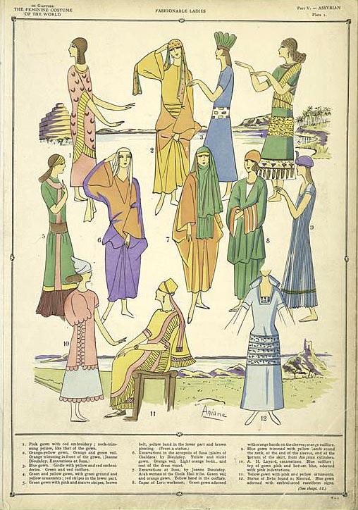 wonderlust old stuff gtgt history of the feminine costume