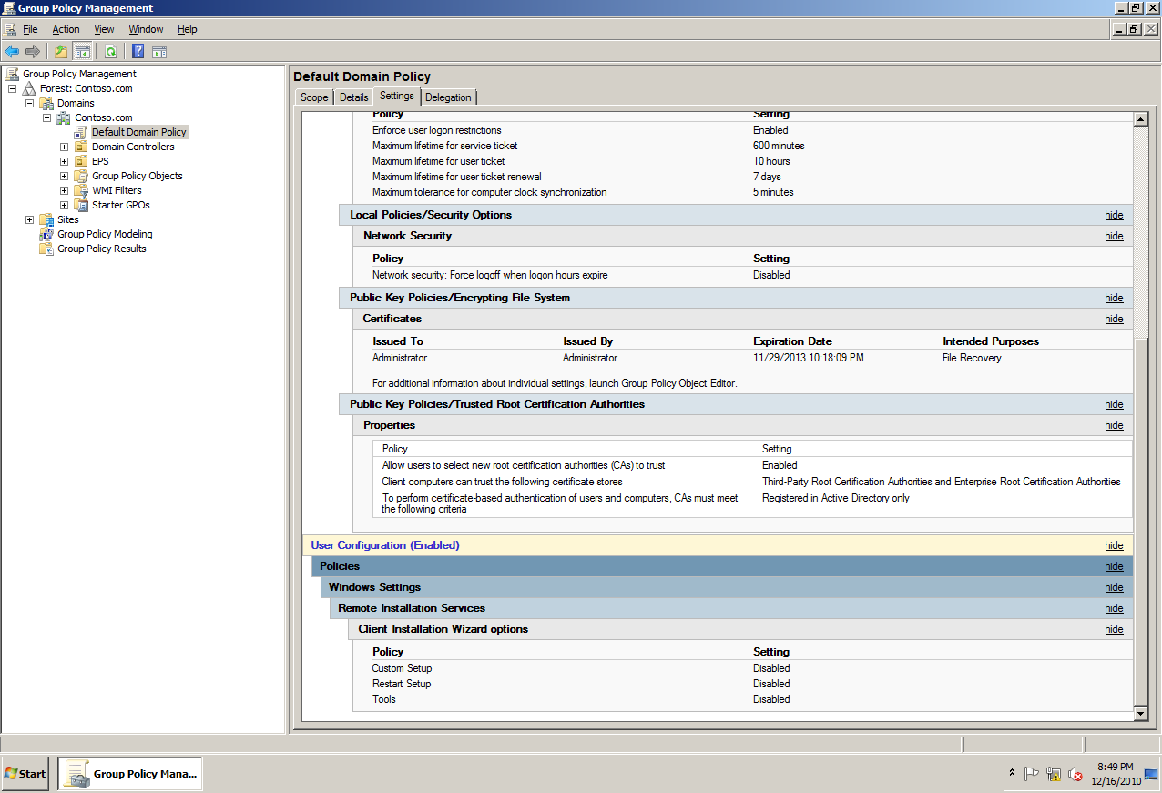 AD Shot Gyan: GPMC - Group Policy Management Console