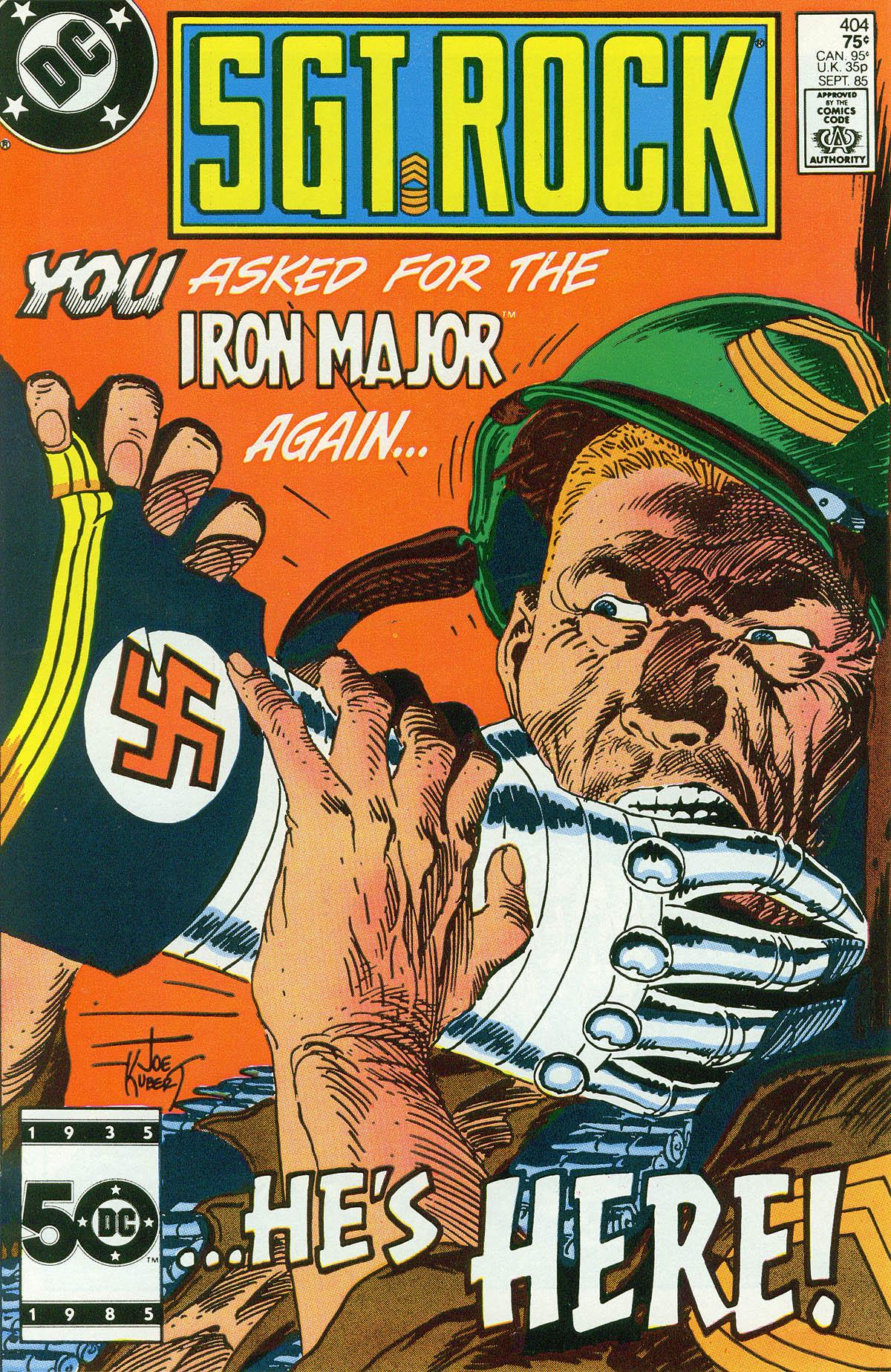 Read online Sgt. Rock comic -  Issue #404 - 1