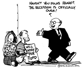 Calculated Risk: Cartoon: Recession is Over!