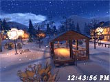 Besplatni download Free 3D Christmas Night Screensaver