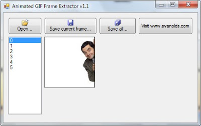 download besplatni programi Animated GIF Frame Extractor
