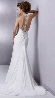 Slinky Wedding Gown