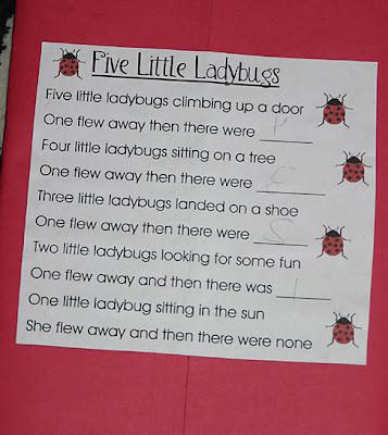Ladybugs Lapbook 1 1 1 1