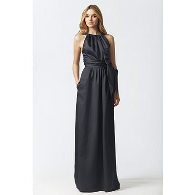 Chiffon Charcoal Greywedding Dressesbridesmaid Dresses ...