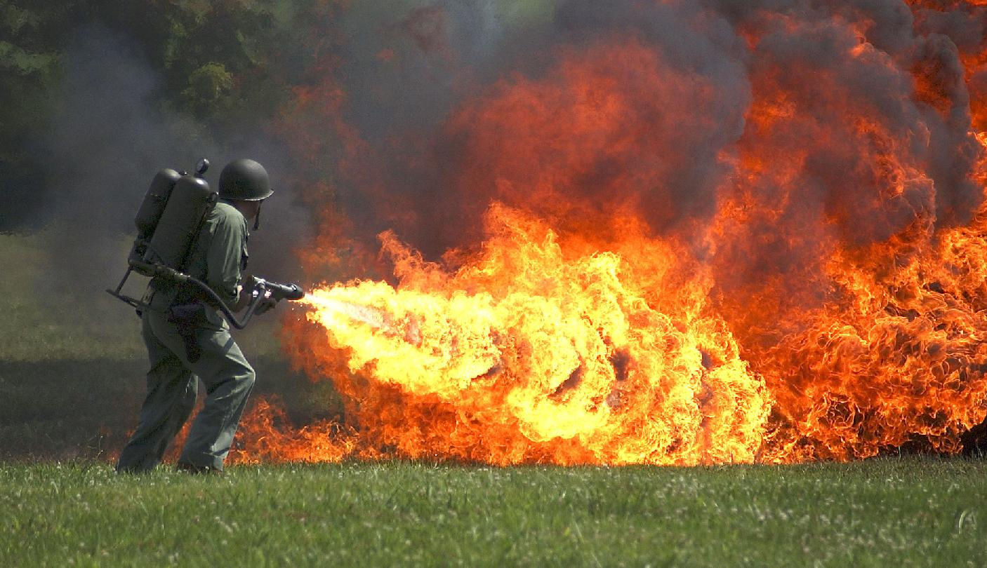 Homemade Defense: Flamethrowers