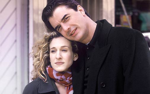 carrie and mr big relationship steps