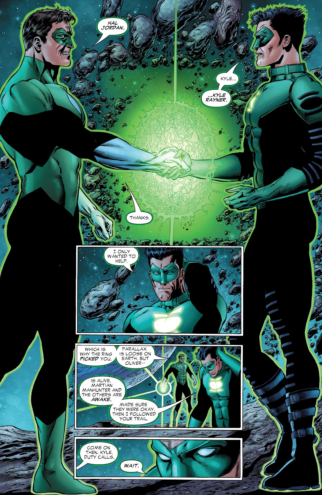 Read online Green Lantern by Geoff Johns comic -  Issue # TPB 1 (Part 2) - 28