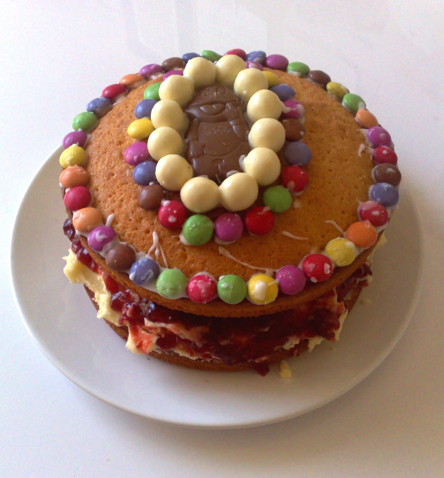 Malteser Cake Tray Bake