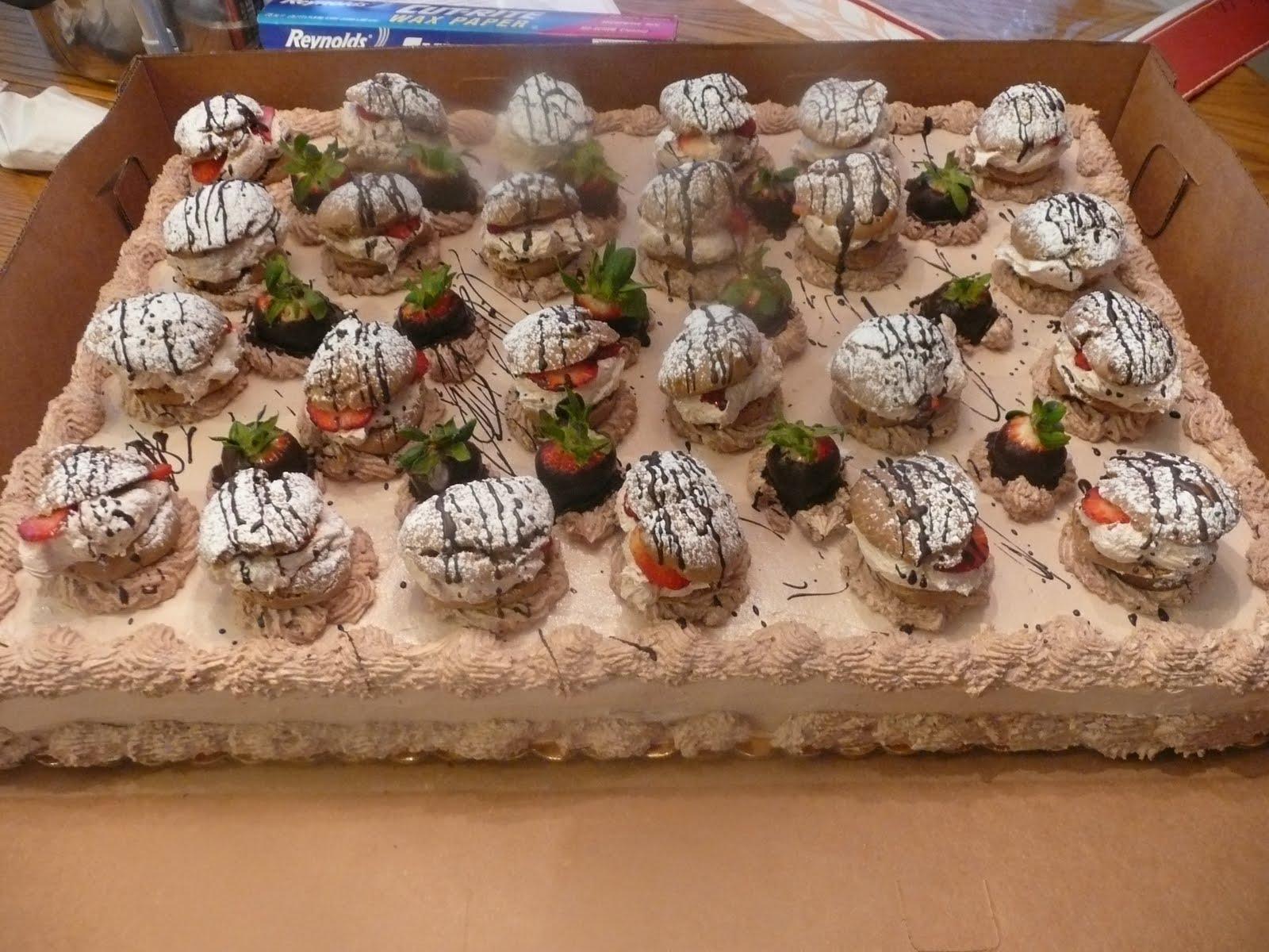 Cream Puff Cake Cake Boss Recipe