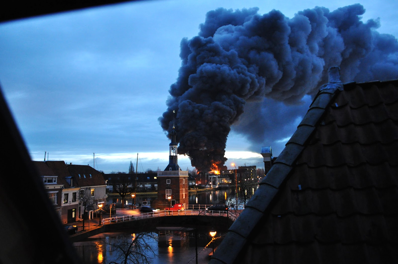 Houthandel Alkmaar Luna North Holland Fire In Alkmaar