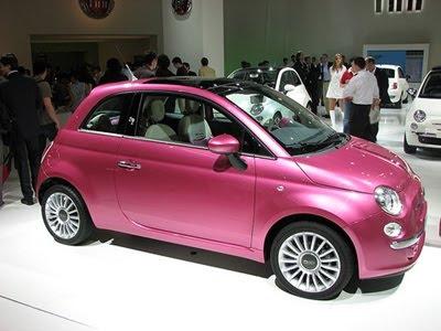 Fotos Do Fiat 500 Rosa Blog De Carros Autopan