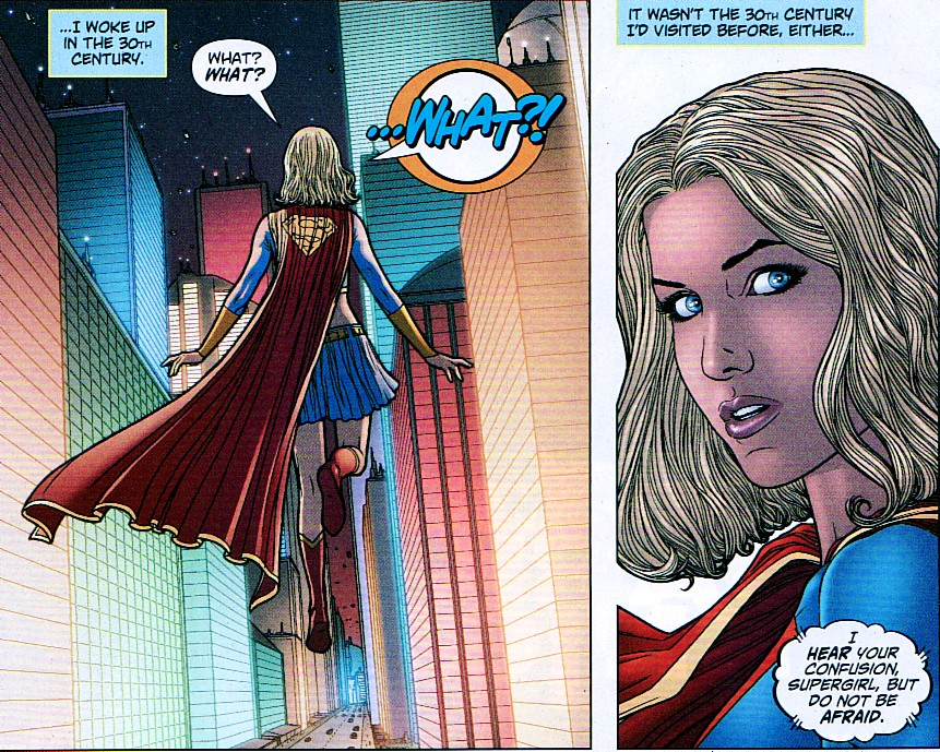 Supergirl Comic Box Commentary: Review: Supergirl Annual #2