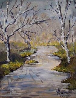 Creekside, by Angela Sullivan