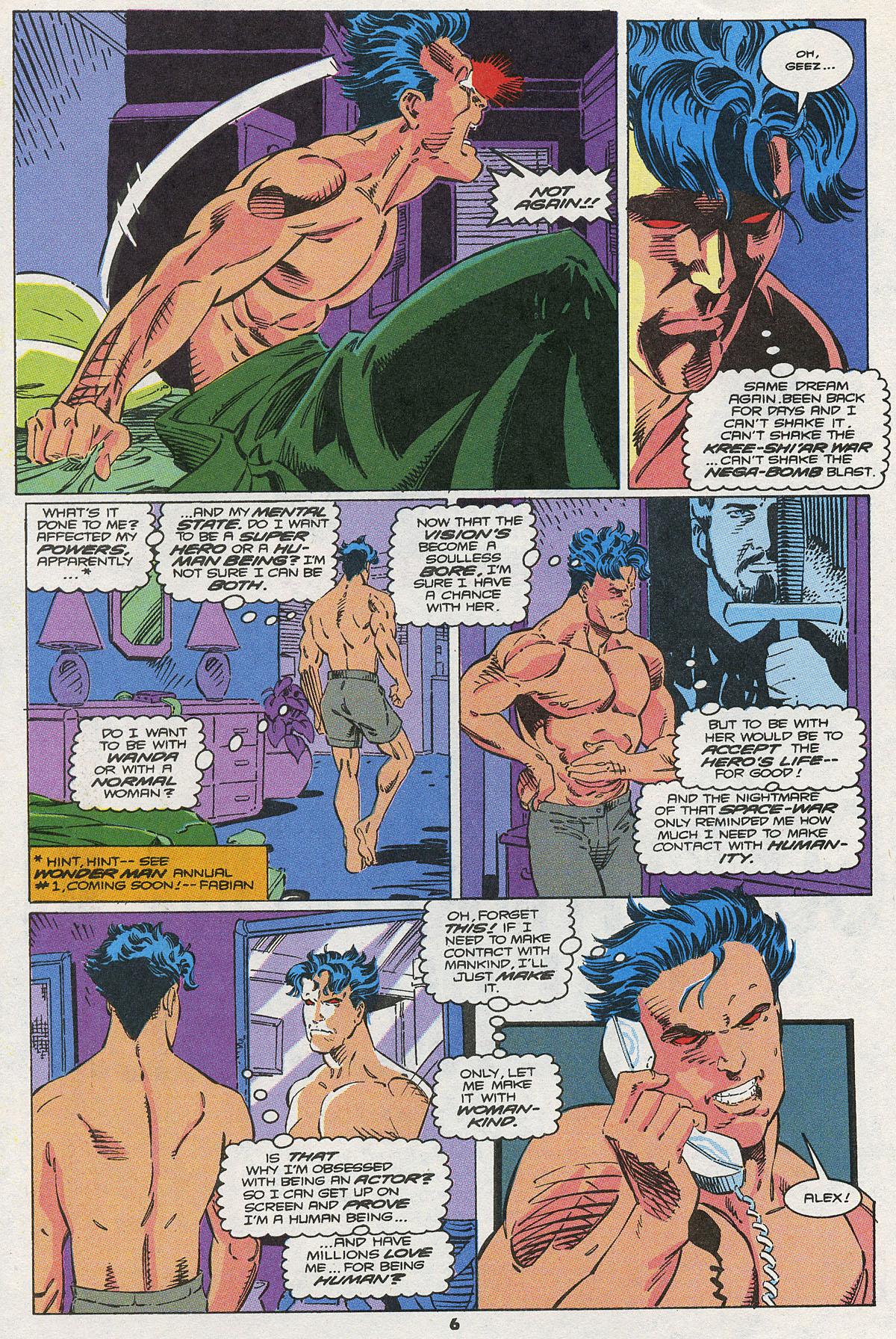 Read online Wonder Man (1991) comic -  Issue #10 - 6