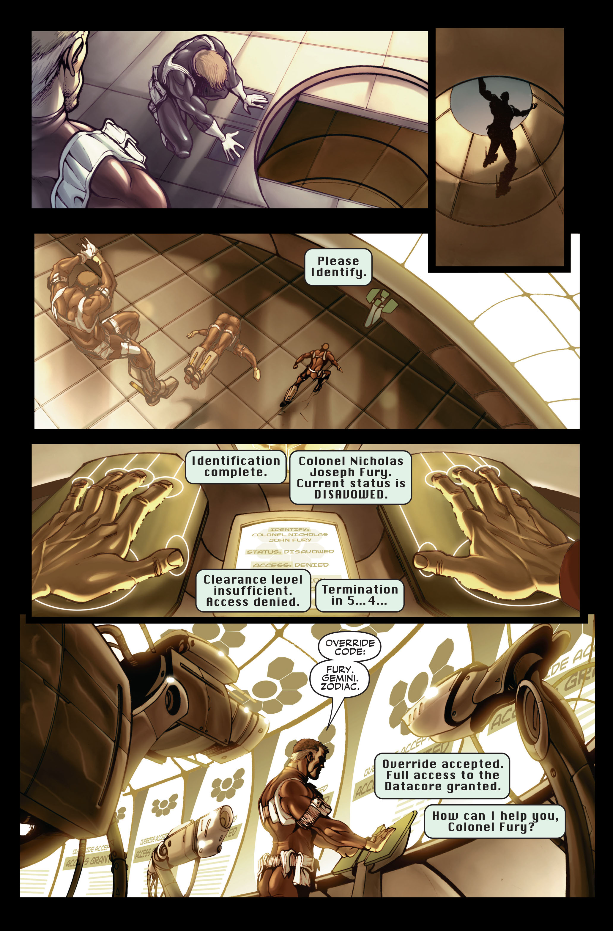 Read online Secret Warriors comic -  Issue #1 - 18