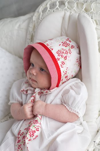 Sew Beautiful Blog Our Reversible Bonnet Tutorial At Sew