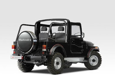 Mahindra Thar Launched in India pics