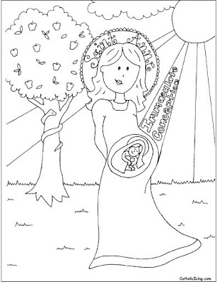 An Angel of the Lord Appeared to Joseph in a Dream coloring page ... | 400x309