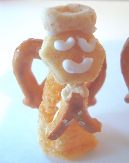 Angel Snack- Play With Your Food!