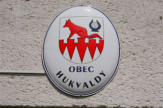 Hukvaldy town badge with the vixen