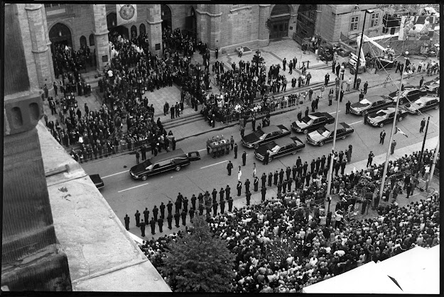 Trudeau's Funeral; Montreal