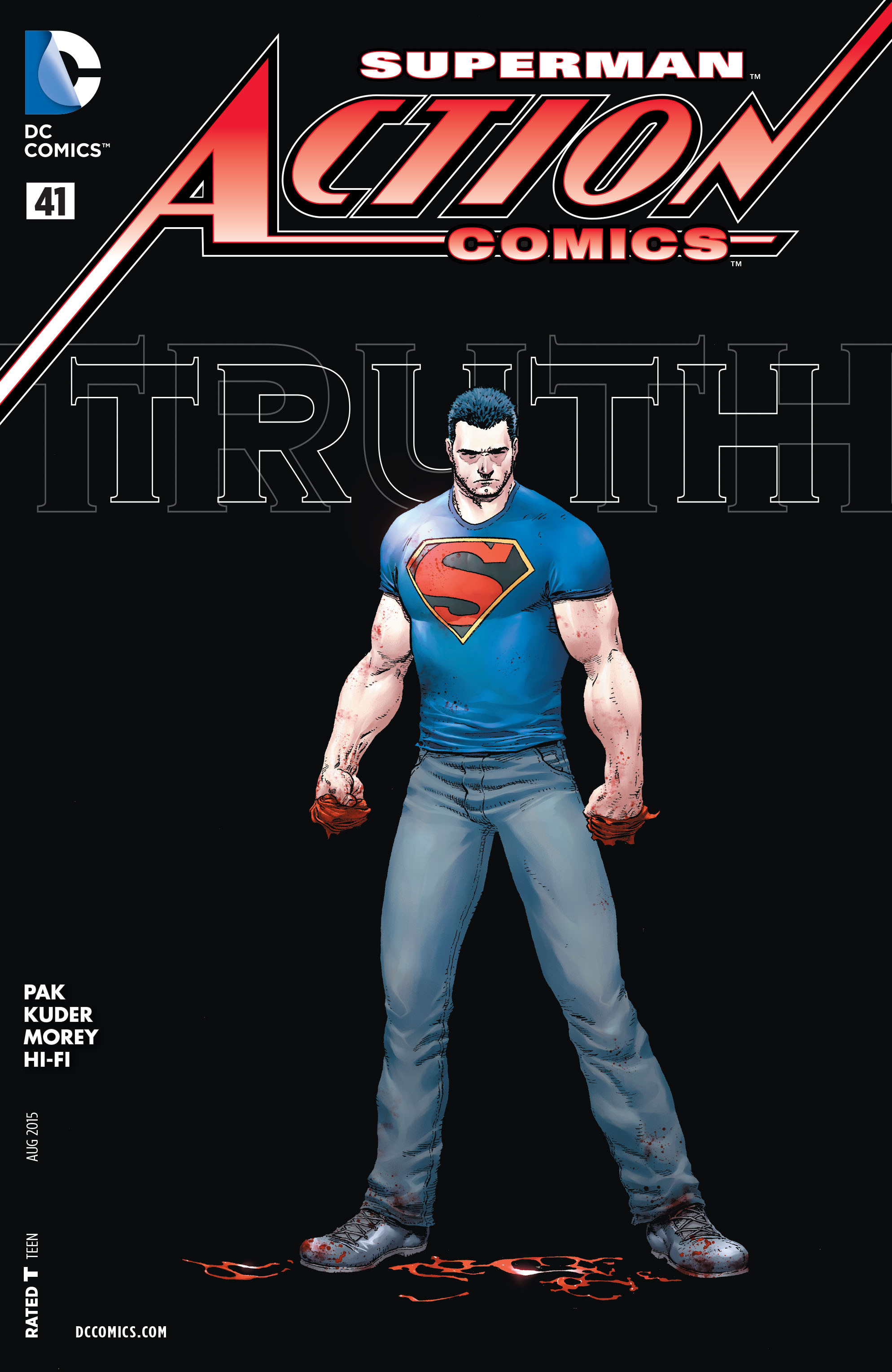 Read online Action Comics (2011) comic -  Issue #41 - 1