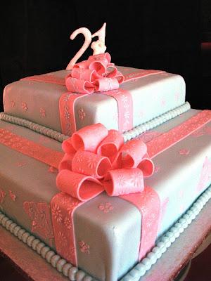 Birthday Cake 16 Year Old Boy Bows