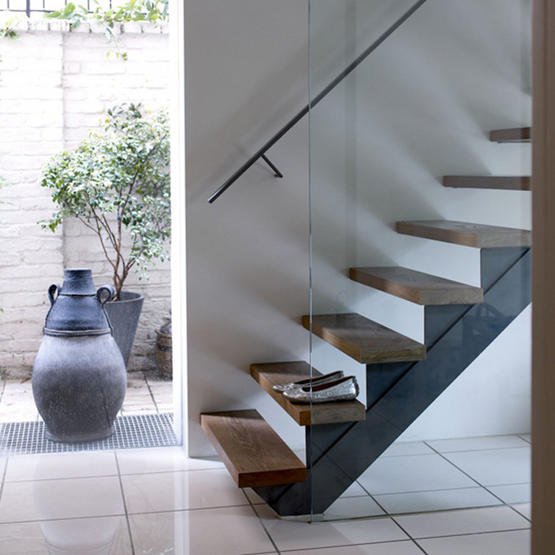 Floating Staircase Ideas: Swish Wishes: Floating Stairs