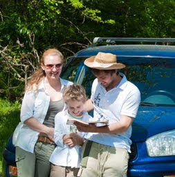Rental car insurance for family vacation