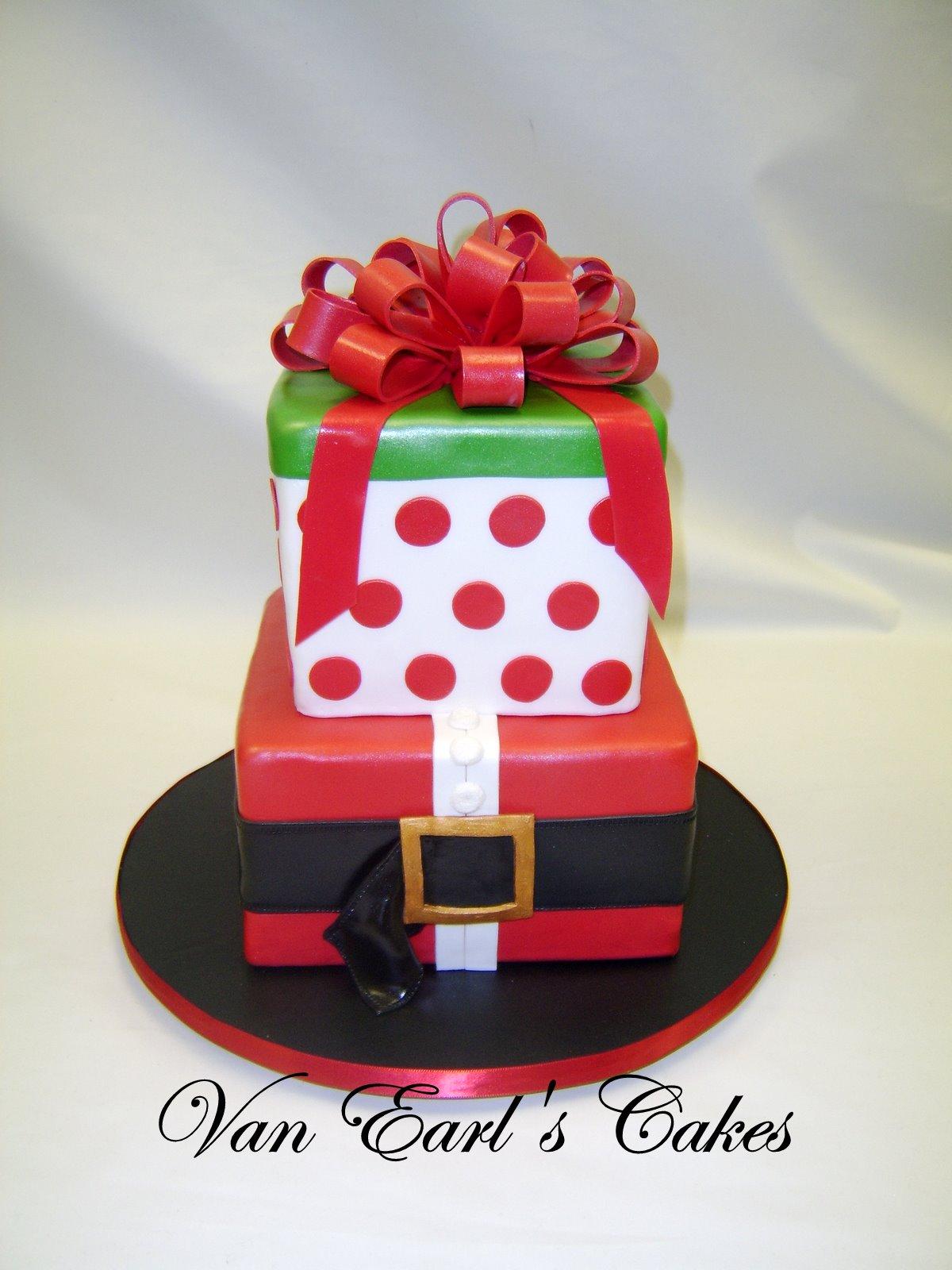 Van Earls Cakes December 2010
