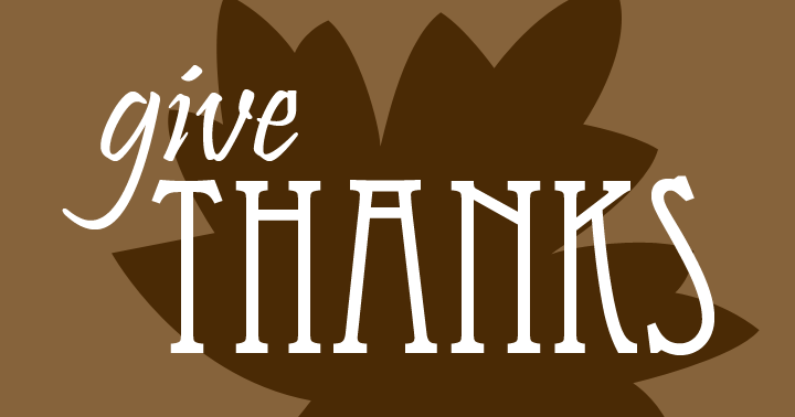 photo relating to Give Thanks Printable named : \
