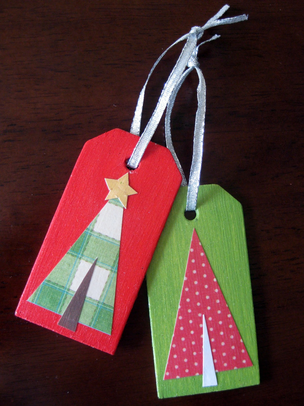 stayathomeartist.com: gift tag christmas ornament tutorial...