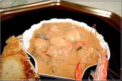 la table lorraine d 39 amelie coquilles saint jacques sauce homardine. Black Bedroom Furniture Sets. Home Design Ideas