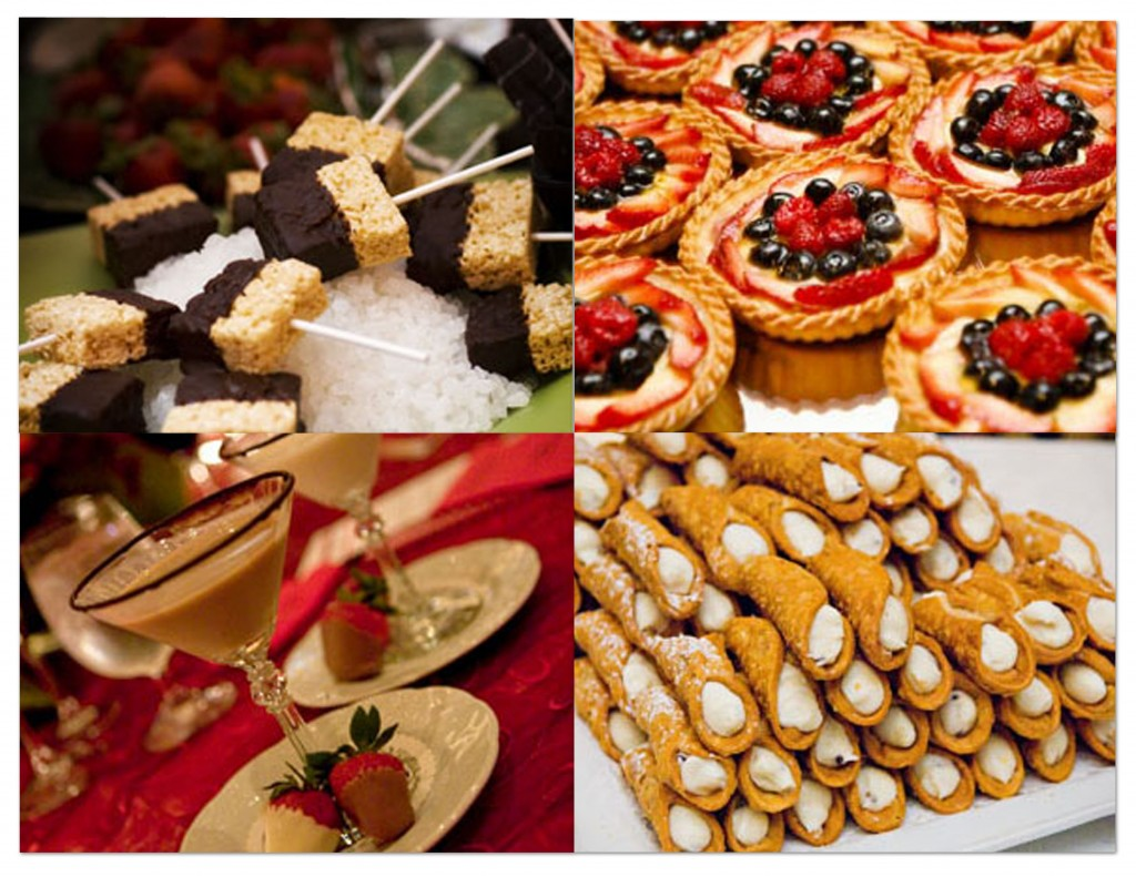 What Should You Serve At A Desserts Only Wedding Reception