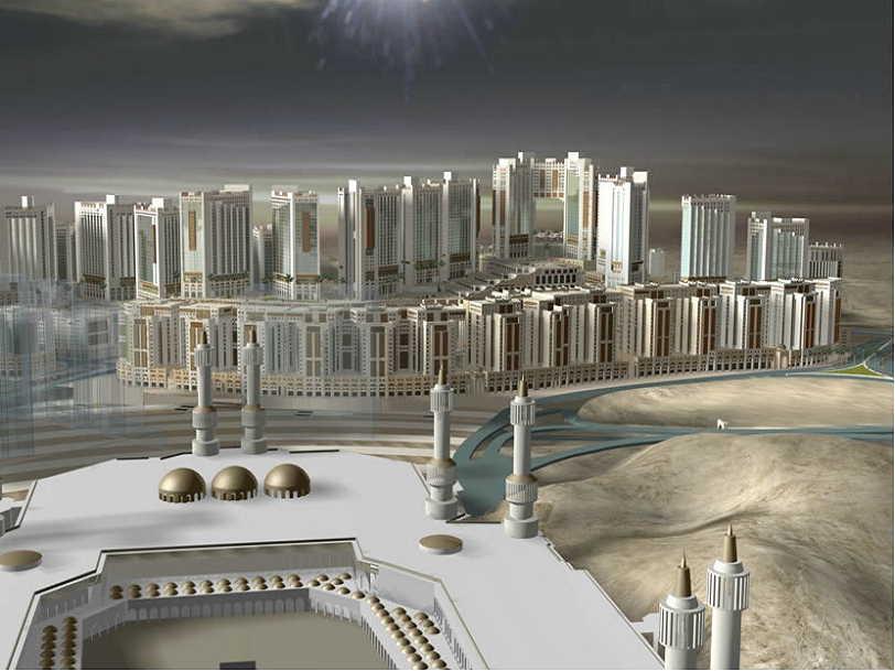 3 Megaproyek Infrastruktur Siap Permak Kota Makkah