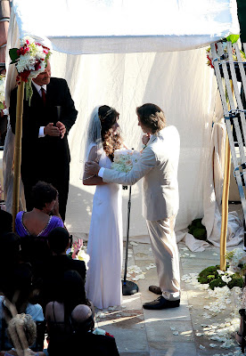 Milla Jovovich Wedding Photos