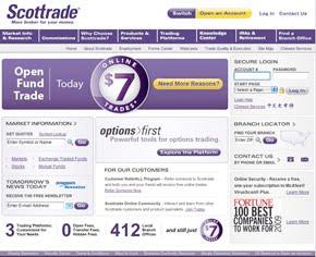 Scottrade option trading commission
